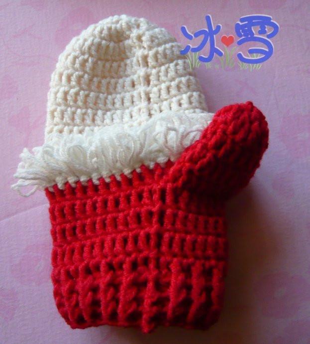 圣诞老人手套 - 年年有余 - 温馨家园