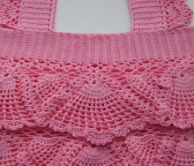 crochet cute tank top for baby