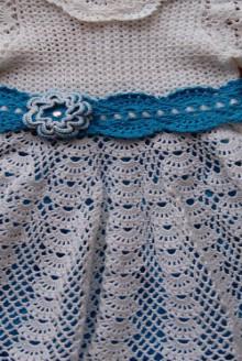 crochet white baby dress,