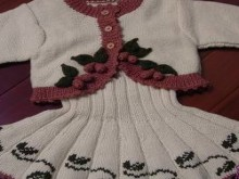 so pretty sweater and dress for kids
