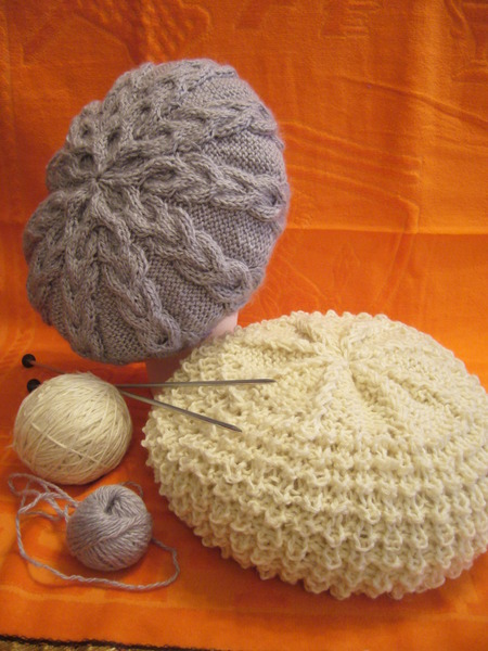Cable Beret Knitting Pattern Make Handmade Crochet Craft