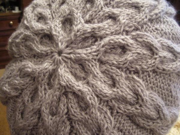 Cable Beret Knitting Pattern Make Handmade Crochet Craft