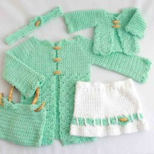 crochet collection: crochet baby fahion