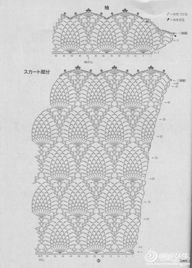 Вязание крючком платье ананасами для девочки крючком 32