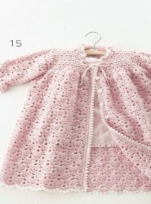 crochet for kid: crochet long cardigan