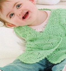 crochet for kids: crochet vest