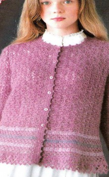 crochet lace cardigan for ladies
