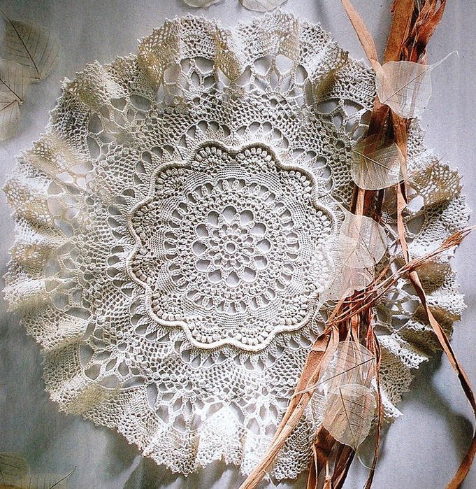 crochet lace doily | make handmade, crochet, craft