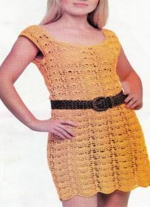 crochet lace dress for ladies