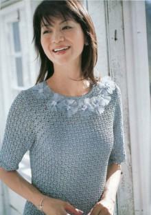 crochet summer pullover