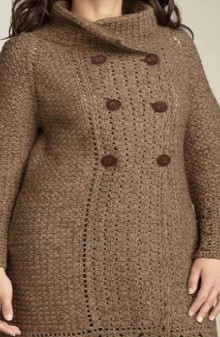 crochet winter jacket for women