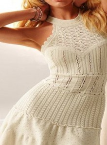 knitting beauty dress for girls