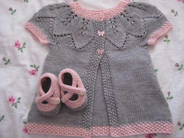 Кофточка для малышей спицами