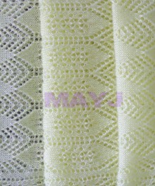 knitting lace scarf