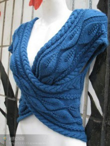 knitting pretty vest for ladies
