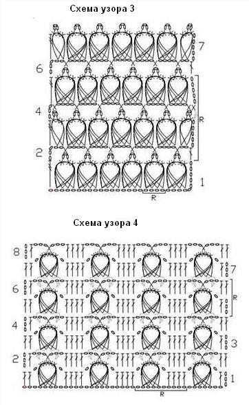 Перуанское вязание схема 83