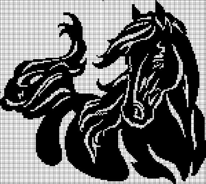 лошадь моно 150x134 (700x625, 245Kb)
