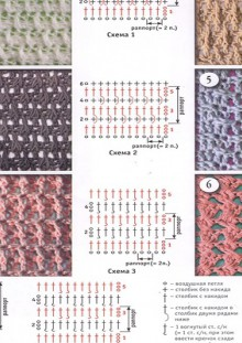 beauty knitting and crochet patterns