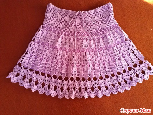 Crochet Baby Girl Skirt Make Handmade Crochet Craft