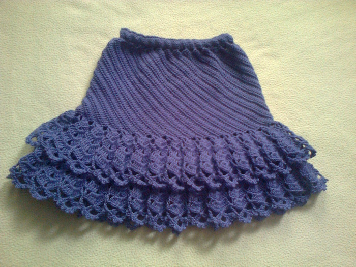 Crochet Skirt For Girls Make Handmade Crochet Craft