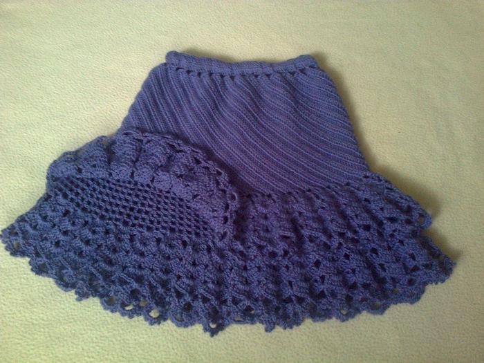 Crochet Skirt For Girls Make Handmade Crochet Craft