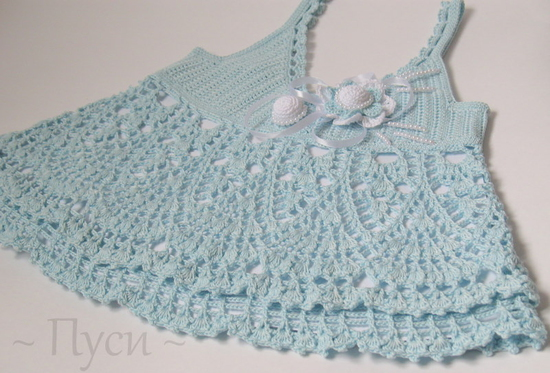 Free Crochet Pattern For Baby Tank Top : crochet baby tank top and hat make handmade, crochet, craft