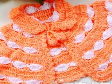 crochet baby vest for winter