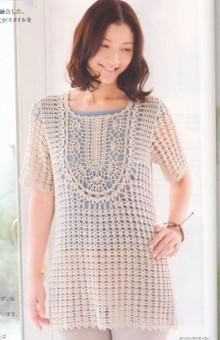 crochet beauty lace dress for ladies, crochet pattern