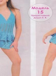 crochet charming dress for beach