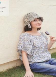 crochet girl berets