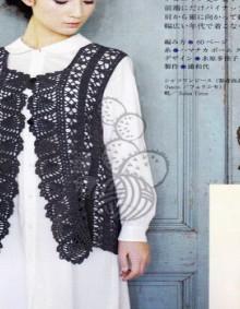 crochet lace cardigan for girl, crochet pattern