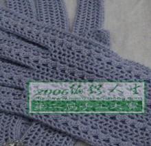 crochet lace gloves for women