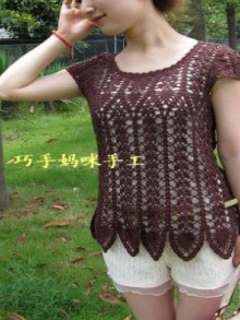 crochet lace sweater for girl