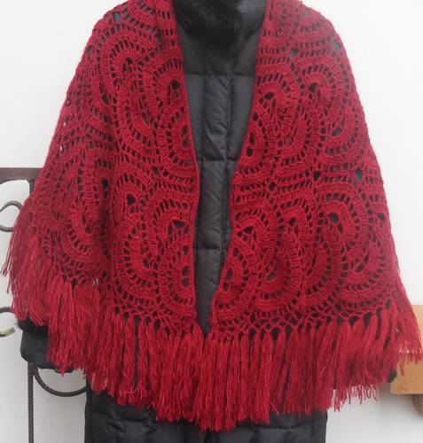 crochet ladies shawls make handmade, crochet, craft