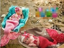crochet little mermaid tails for little girls