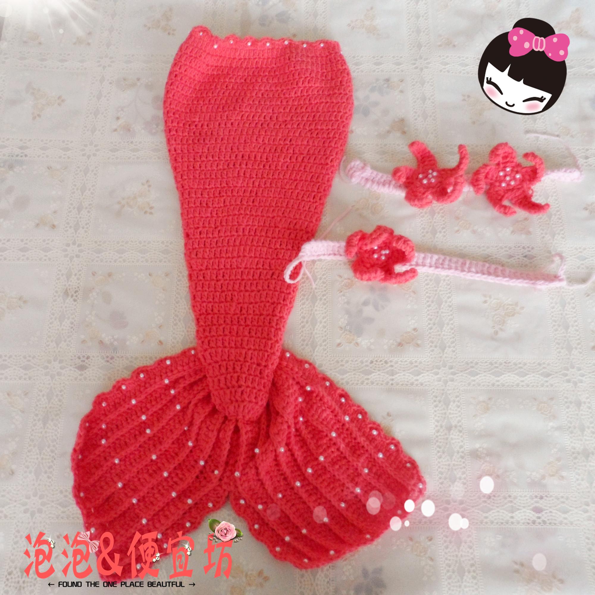 Crochet Little Mermaid Tails For Little Girls Make Handmade