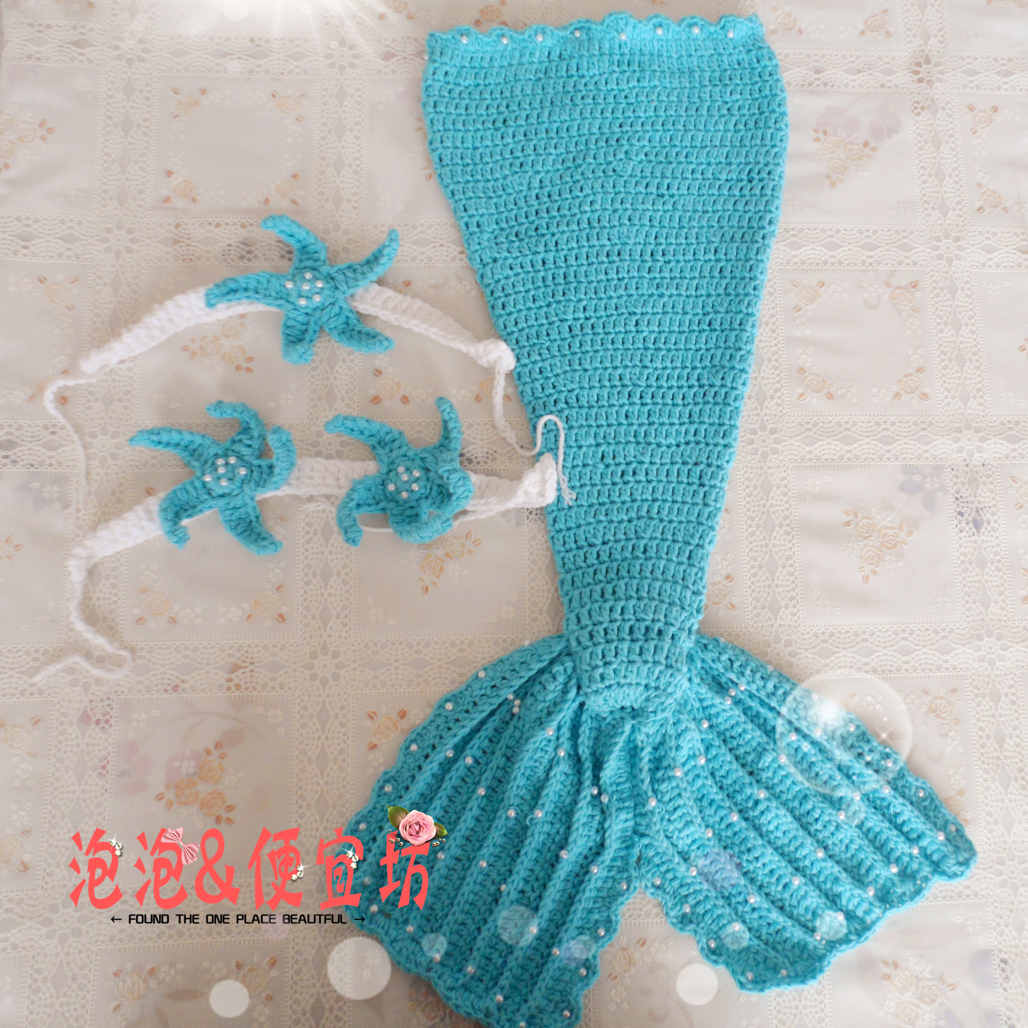 Crochet Patterns Mermaid : crochet little mermaid tails for little girls make handmade, crochet ...