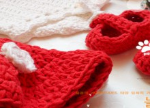 crochet mickey mouse fashion for infant