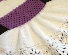 crochet so pretty dress for little girls