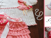 crochet set for little girl