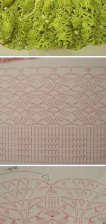 crochet skirt of chinese blog
