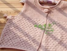 knitting cable bolero, knitting pattern
