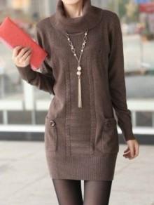 knitting charming dress for ladies