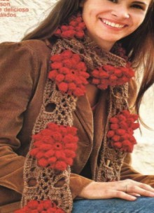 scarves from granny squares