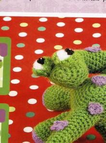 amiguruni crochet: dinosaur pattern