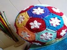 crochet balls for kids: toddler's play balls