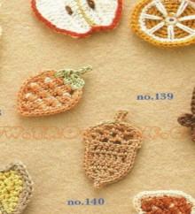 crochet beauty appliques 2