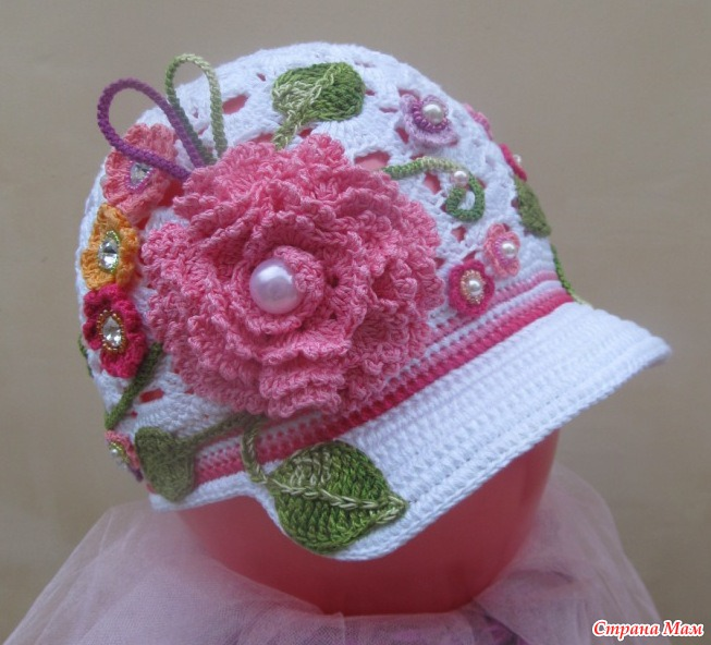 Cute caps and hats for your baby make handmade crochet craft