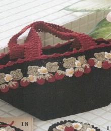 crochet cute handbags for ladies