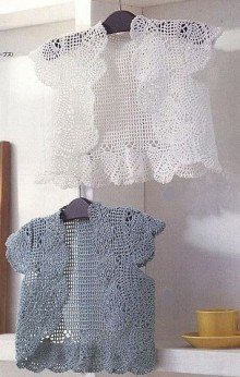 crochet cute lace jacket